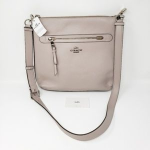 Brand New Coach Leather Crossbody Bag MSRP $325